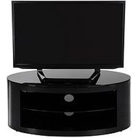 Product photograph showing Avf Buckingham Oval Affinity 1100 Tv Stand- Holds Up To 55 Inch Tv