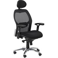 Product photograph showing Alphason Portland Mesh Back Office Chair