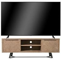 Product photograph showing K-interiors Regis Tv Cabinet - Fits Up To 65 Inch Tv