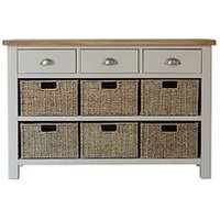 Product photograph showing K-interiors Fontana 3 Drawer 6 Drawer Sideboard