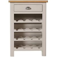 Product photograph showing K-interiors Fontana Ready Assembled Wine Cabinet