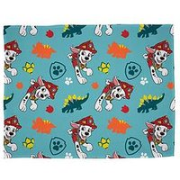 Product photograph showing Paw Patrol Dino Rescue Fleece Blanket
