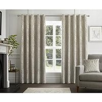 Product photograph showing Curtina Chateaux Eyelet Curtains