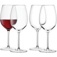 Product photograph showing Lsa International Red Wine Glasses Ndash Set Of 4