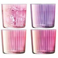 Product photograph showing Lsa International Lsa International Gems Tumbler Glasses Set Of 4