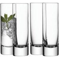 Product photograph showing Lsa International Bar Handmade Long Drink Glasses Ndash Set Of 4