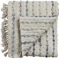 Product photograph showing Cascade Home Malvern Hand-crafted Throw