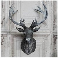 Product photograph showing Stag Head Wall Hanging Ornament