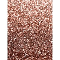 Product photograph showing Catherine Lansfield Rose Gold Glitter Wallpaper