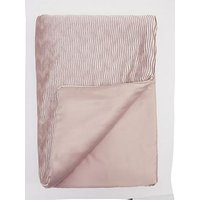 Product photograph showing Velvet Wave Bedspread Throw