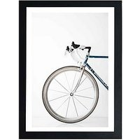 Product photograph showing East End Prints Ride My Bike By Studio Na Hili A3 Framed Print
