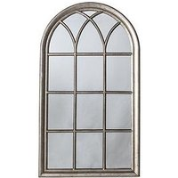 Product photograph showing Gallery Seaforth Window Mirror