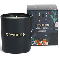 Product photograph showing Cowshed Christmas Winter Candle