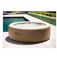 Product photograph showing Intex Purespa Bubble Round 6 Person