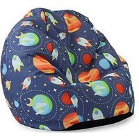Product photograph showing Rucomfy Outer Space Classic Bean Bag