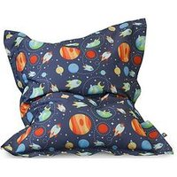 Product photograph showing Rucomfy Outer Space Junior Squarbie Bean Bag