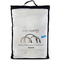 Product photograph showing Dormeo Silver Mattress Protector Sb
