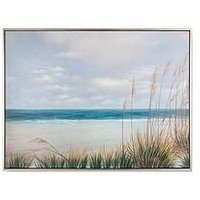 Product photograph showing Graham Brown Coastal Shores Handpainted Framed Canvas
