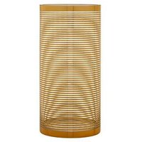 Product photograph showing Premier Housewares Raya Cylinder Stripe Vase