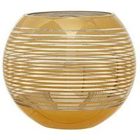 Product photograph showing Premier Housewares Raya Rounded Stripe Vase