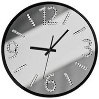 Product photograph showing Premier Housewares Wall Clock With Diamantes
