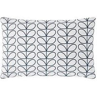Product photograph showing Orla Kiely House Linear Stem Pillowcase Pair - Blue