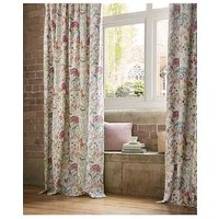 Product photograph showing Voyage Country Hedgerow Lotus Pleated Curtains