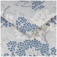 Product photograph showing Fresco Lykke Tree Navy Wallpaper