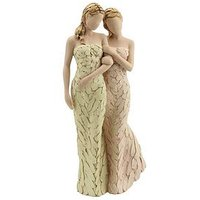 Product photograph showing More Than Words My Sister My Friend Figurine