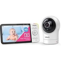 Product photograph showing Vtech 5 Smart Wi-fi Pan Tilt Monitor