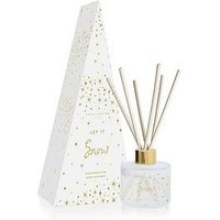 Product photograph showing Katie Loxton Festive Reed Diffuser Let It Snow Christmas Pine 100ml