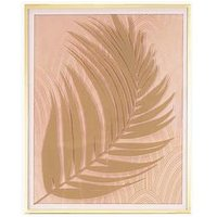 Product photograph showing Michelle Keegan Home Fern Leaf Framed Print