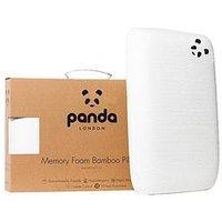 Product photograph showing Panda London Adult Luxury Memory Foam Bamboo Pillow
