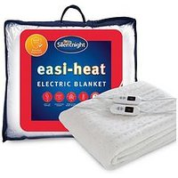 Product photograph showing Silentnight Easi-heat King Size Electric Blanket