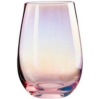 Product photograph showing Premier Housewares Frosted Deco Hiball Tumbler Glasses Ndash Set Of 4