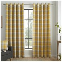 Product photograph showing Curtina Lincoln Eyelet Curtains