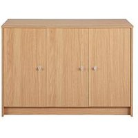 Product photograph showing Home Essentials - New Oslo Large Sideboard