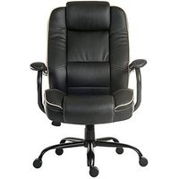 Product photograph showing Teknik Office Rhea Duo Office Chair - Black