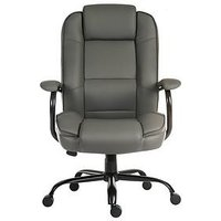 Product photograph showing Teknik Office Rhea Duo Office Chair - Grey