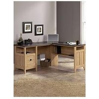 Product photograph showing Teknik Office Ashton L Shaped Corner Desk