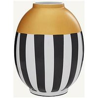 Product photograph showing Laila Urn Vase With Metallic