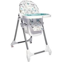Product photograph showing Mamas Papas Snax Highchair - Happy Planet