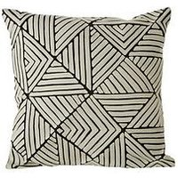 Product photograph showing Premier Housewares Bosie Ozella Triangle Cushion