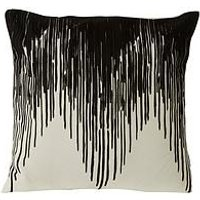 Product photograph showing Premier Housewares Bosie Ozella Chevron Cushion