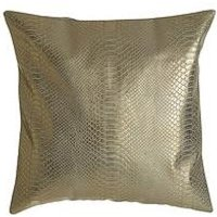 Product photograph showing Premier Housewares Kensington Townhouse Snakeskin Cushion
