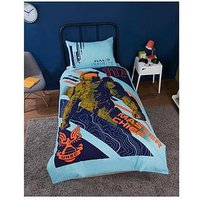 Product photograph showing Halo Master Chief Single Duvet Cover Set