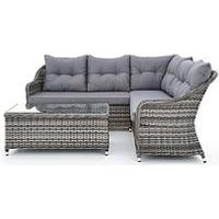 Product photograph showing Florida Corner Sofa Set