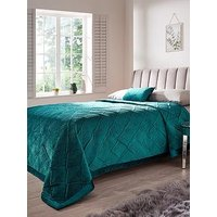 Product photograph showing Michelle Keegan Velvet Throw