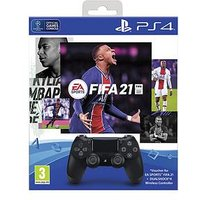 Playstation 4 Fifa 21 With Dualshock Controller Bundle