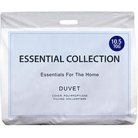 Product photograph showing Essentials Collection Essentials 10 5 Tog Duvet